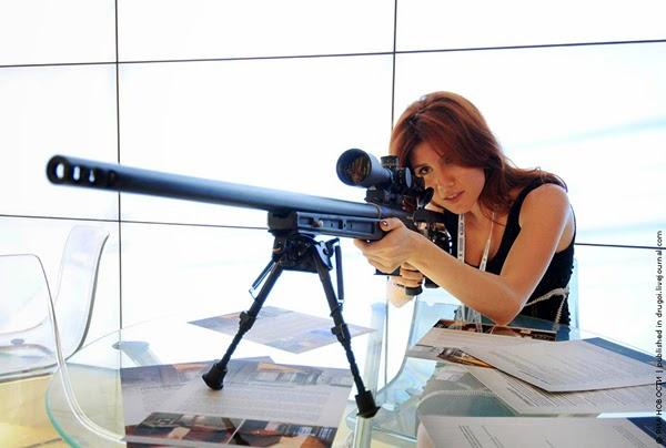 Anna Chapman, l'espionne sexy venue du froid