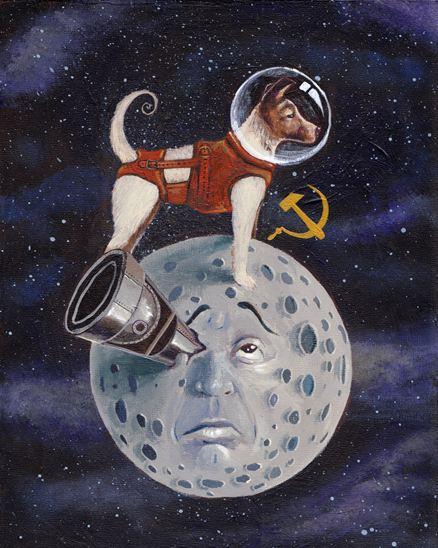 Laïka le chien astronaute