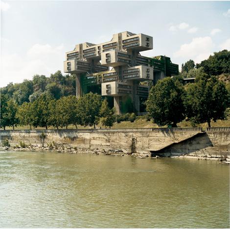 Architecture soviétique - Tbilissi (Frédéric Chaubin)