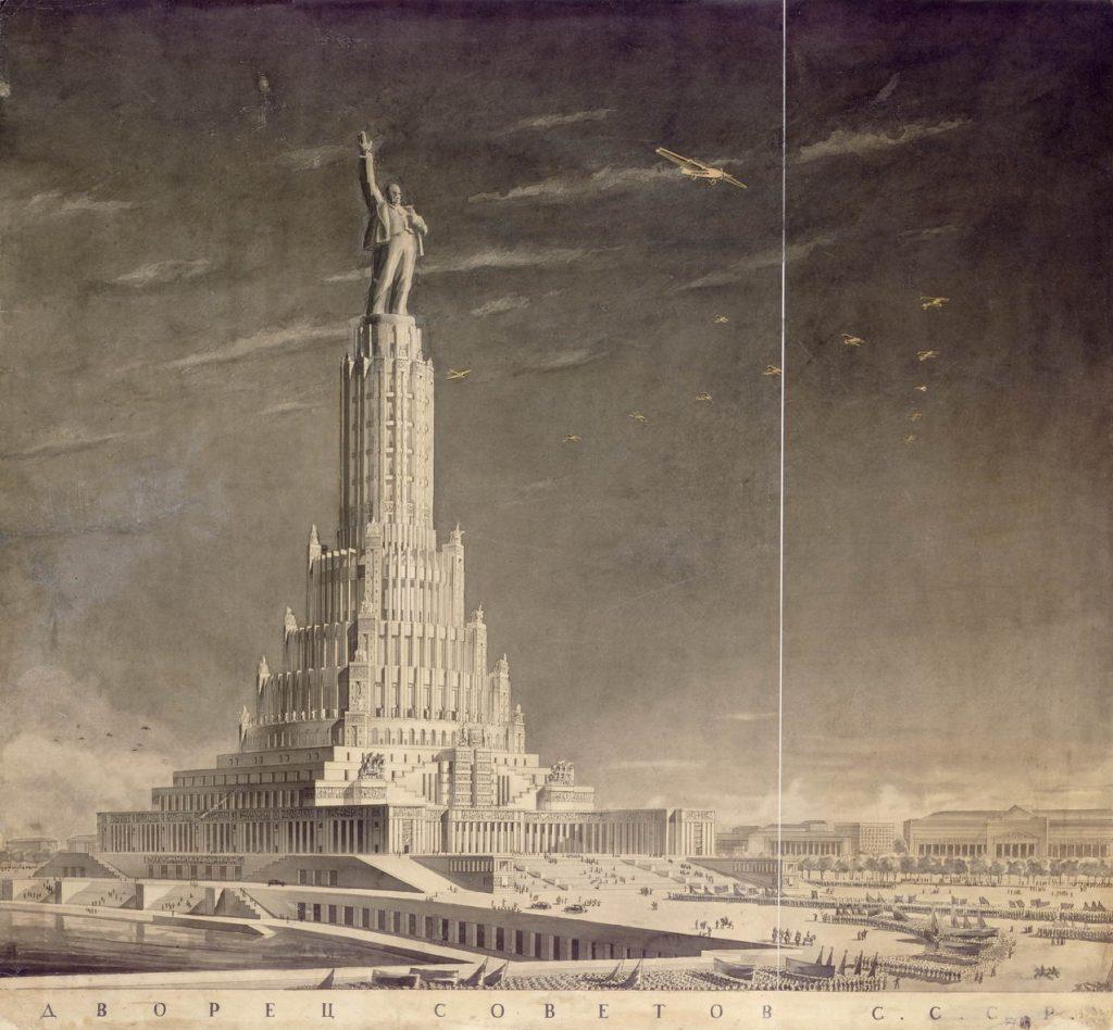 Architecture soviétique - Palais des Soviets