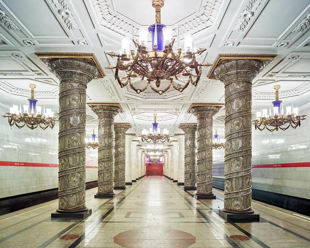 Station-Avtovo-Métro-de-Moscou-station-Avtovo
