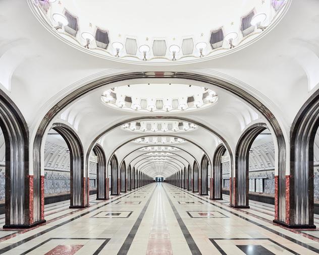 Station-Mayakovskaya-Métro-de-Moscou-station-Mayakovskaya