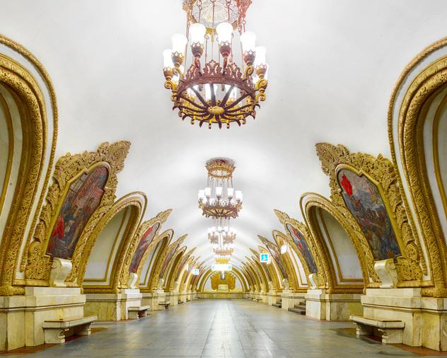 Station du Métro-de-Moscou
