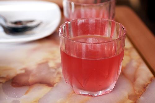 Kissel ou compot - boisson russe