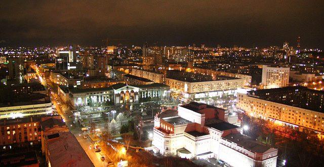 Un time lapse d'Ekaterinbourg