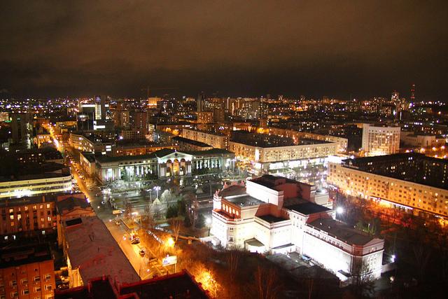 Ekaterinbourg en time lapse - magnifique !