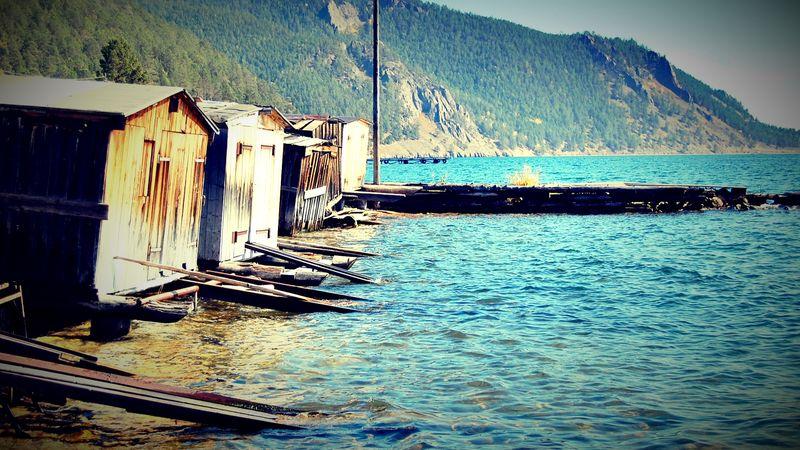Rives du lac Baïkal