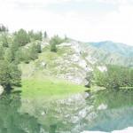 Une réserve d'eau en Altaï