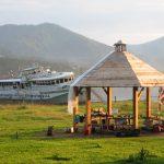 Eco tourisme sur le lac Teletkoe en Altaï