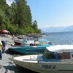 Bateaux taxi sur le lac Teletskoe - Ataï