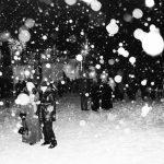 Minuit un 31 Décembre en Sibérie. Les flocons jouent les cotillons. S novim godom (С Новым Годом)!