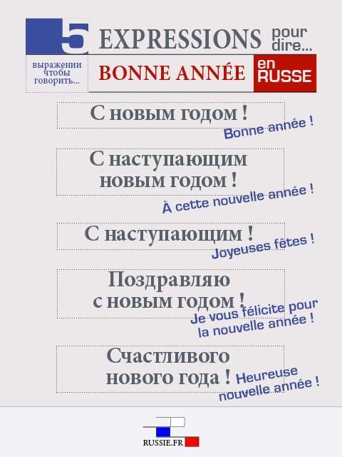 Nouvel an russe - 5 expressions russes pour dire bonne année