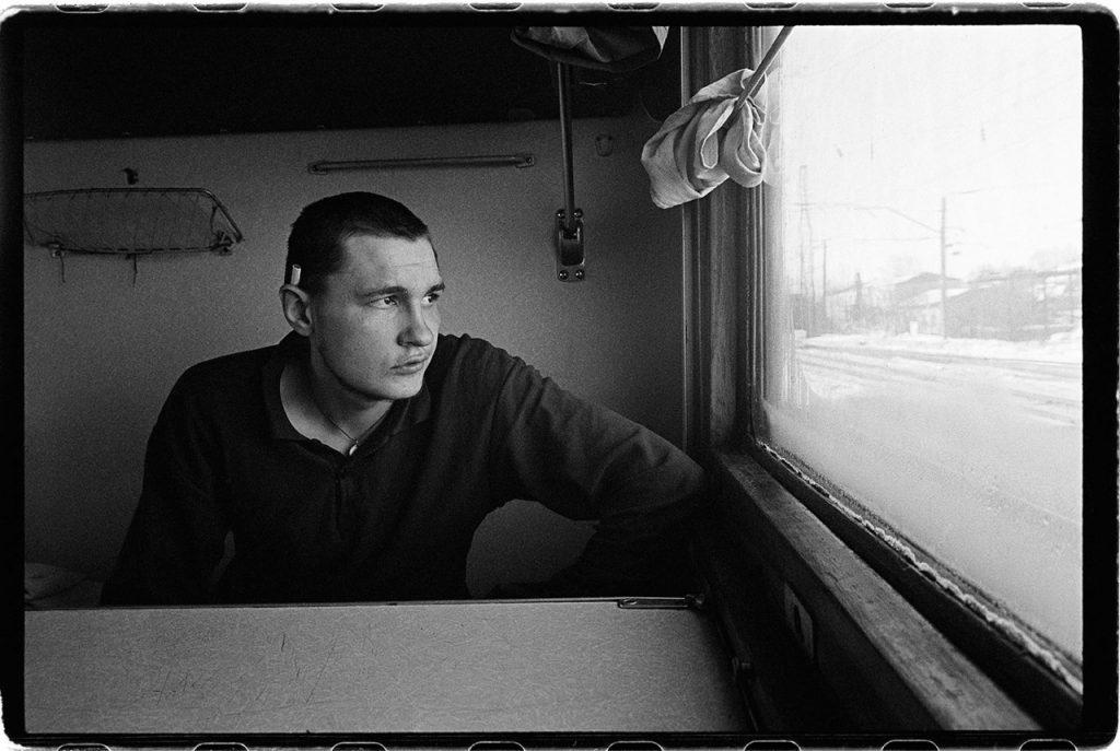 Photos de Russie : un détenu