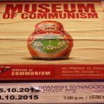 Affiche du Musée du Communisme à Prague