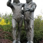 Deux cosmonautes