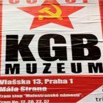 Affiche du Musée du KGB à Prague