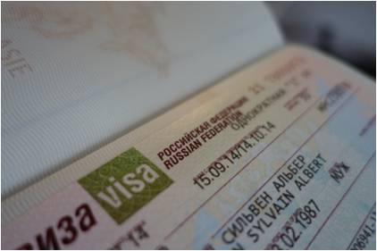 Visas pour la Russie simplement