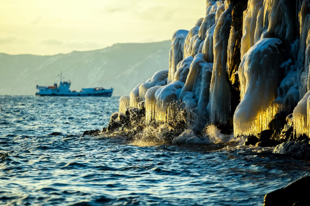 Les bonus, lac Baïkal