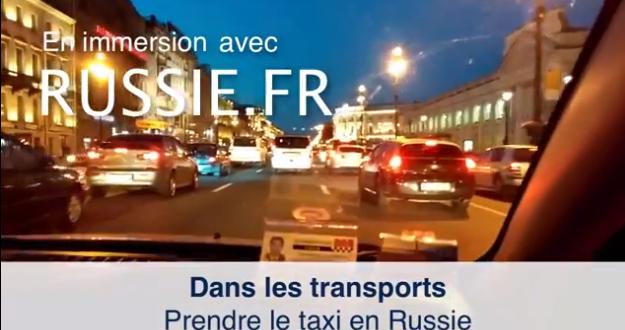 Comment prendre le taxi en Russie