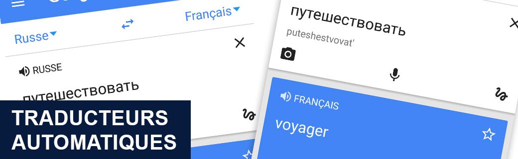 Les Traducteurs franco russes automatiques
