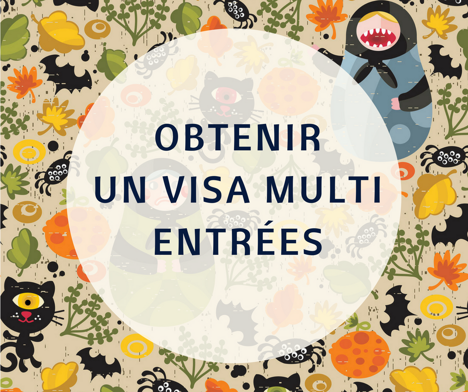 Le visa multi entrées pour la Russie