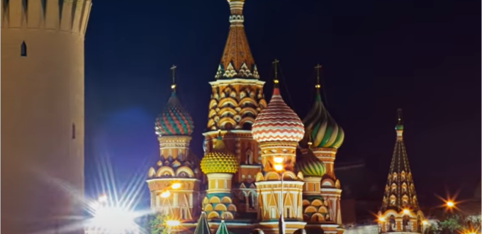Time lapse Russie